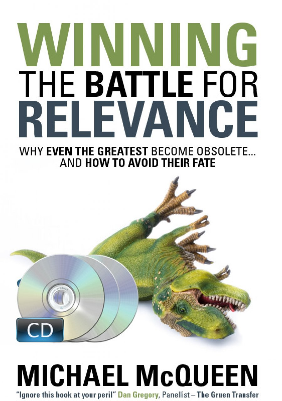 Winning The Battle For Relevance - Audio CD